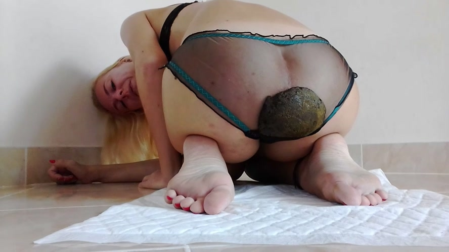Lovely Panty Poo, Thick Shit Pussy Smear, Orgasms - Sex With MissAnja  (2018) [HD 1280x720 / MPEG-4]