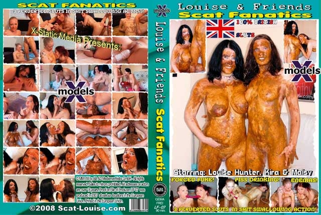 Louise & Friends 7 - Scat Fanatics - Sex With Louise Hunter, Kira, Maisy (2018) [DVDRip MPEG-4 Video 512x384 25.000 FPS 1000 kb/s / mov]