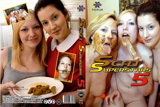 Scat Superstars 5 - Sex With Louise Hunter, Susan, Tiffany, Maisy, Kira (2018) [DVDRip MPEG-PS Video 352x288 25.000 FPS 1394 kb/s / mpeg]