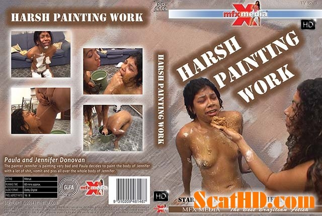 MFX-6146 Harsh Painting Work - Sex With Paula, Jennifer Donovan (2018) [HDRip / mp4]