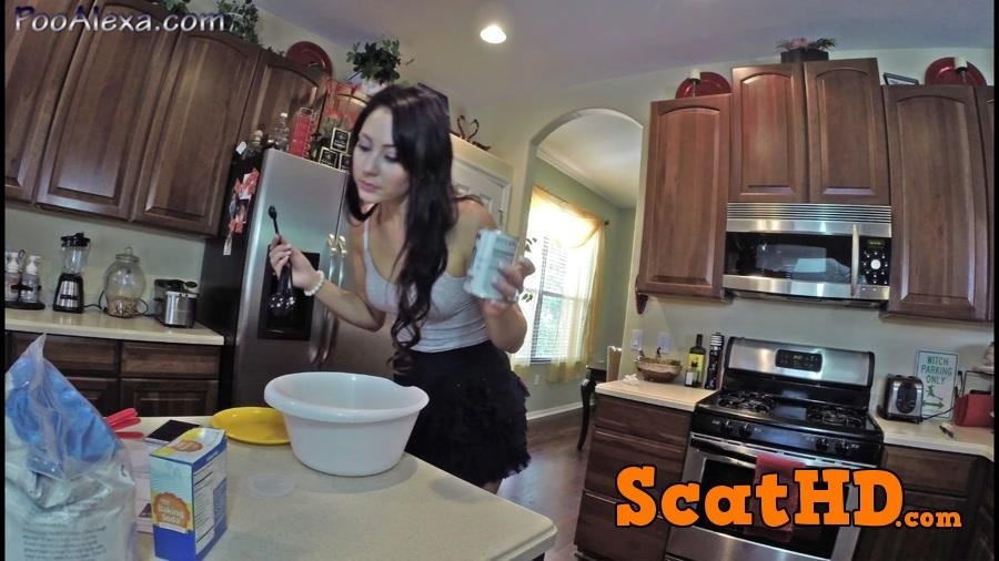 Baking Banana Butt Muffins - Sex With Alexa (Jessica Valentino) (2018) [FullHD Quality / mp4]