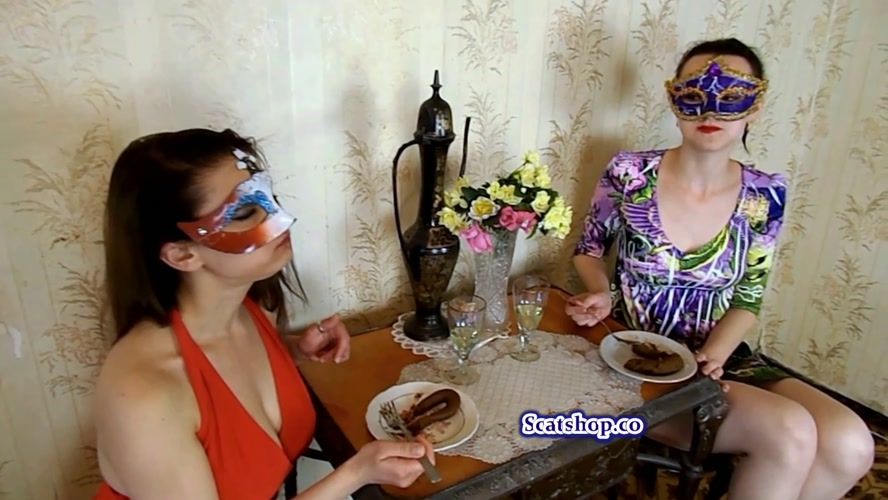 Carolina and Alice eat their poop - Sex With ModelNatalya94 (2019) [FullHD 1920x1080 / MPEG-4]