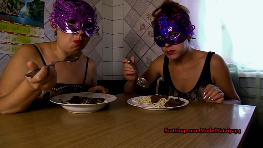 Our Breakfast pasta shit - Sex With ModelNatalya94 (2019) [FullHD 1920x1080 / MPEG-4]