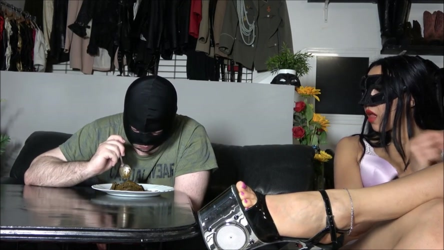 Eating a mountain of shit - Sex With Mistress Gaia (2019) [FullHD 1920x1080 / MPEG-4]